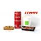 Formule du sportif 1: L'équipe + coca +cookie + bounty